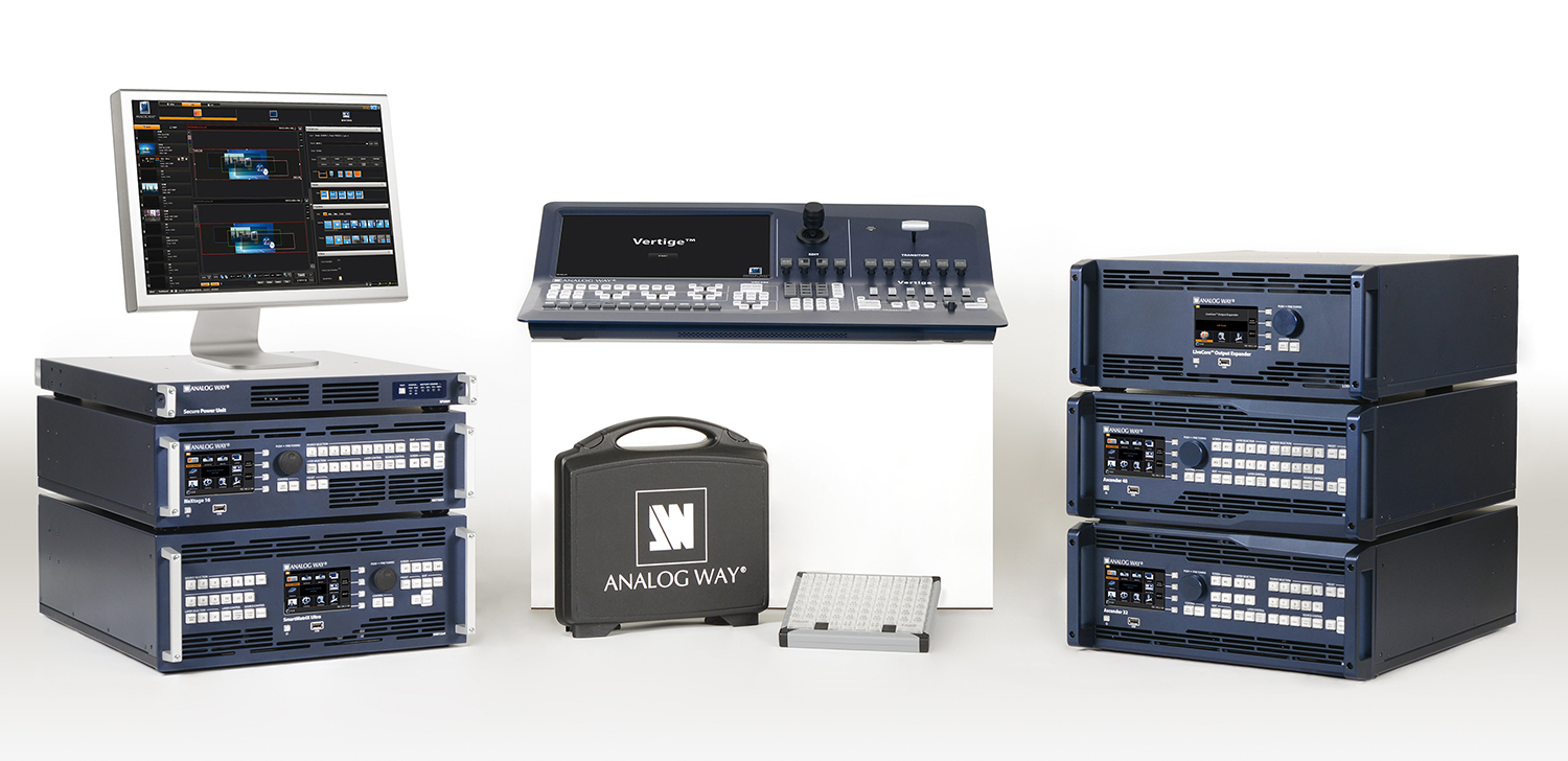 Visuel LiveCore series enhanced with outstanding new features and accessories