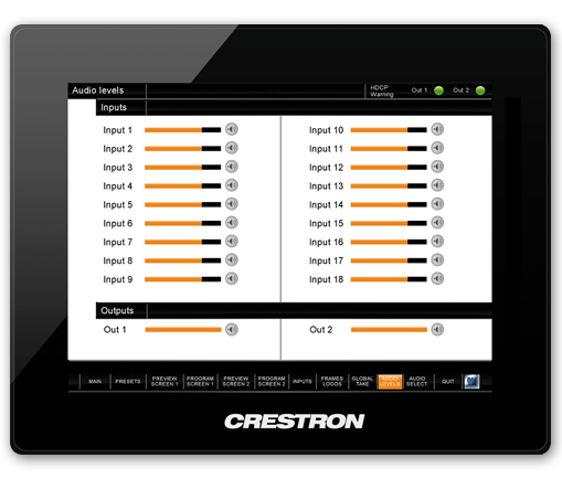 Crestron Driver - Midra platform