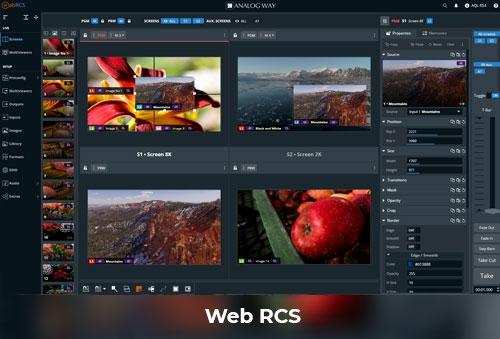 Sistemas de apresentação LivePremier