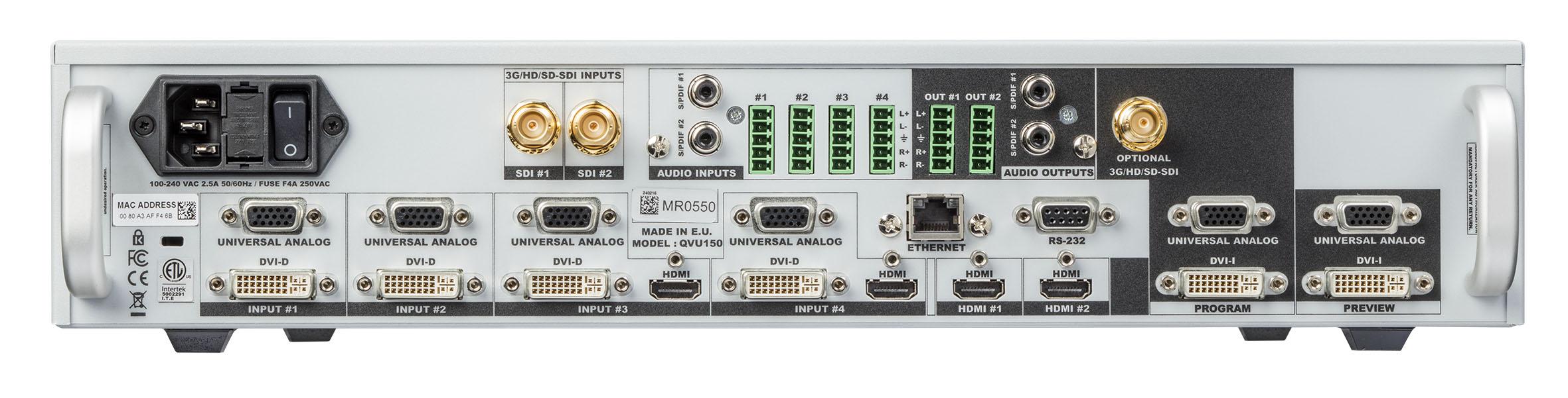 QuickVu - 3G | Analog Way